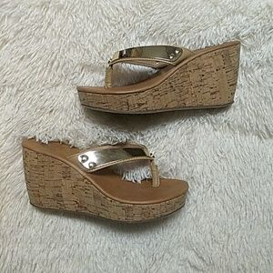 Like New Juicy Couture Wedge Sandals